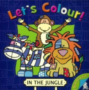 Book - Lets Colour in the Jungle