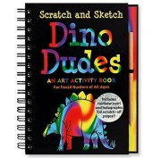 Book - Scratch and Sketch - Dino Dudes