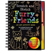 Book - Scratch and Sketch - Furry Friends
